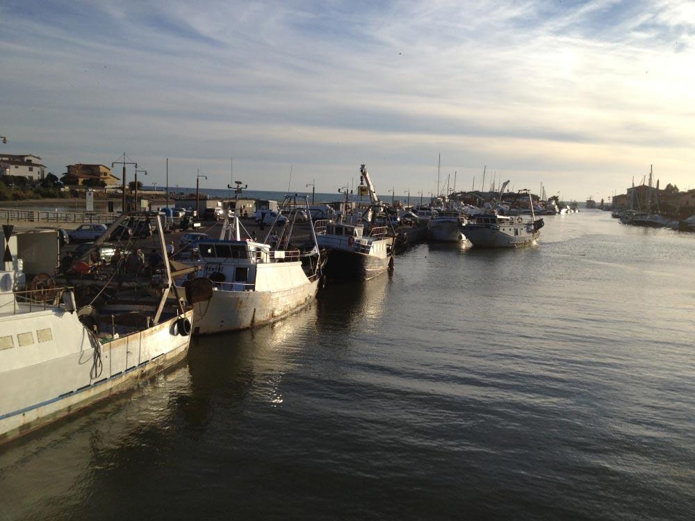 foto del porto di Castiglione della Pescaia