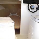 interno barca cabin fisher vespucci 19