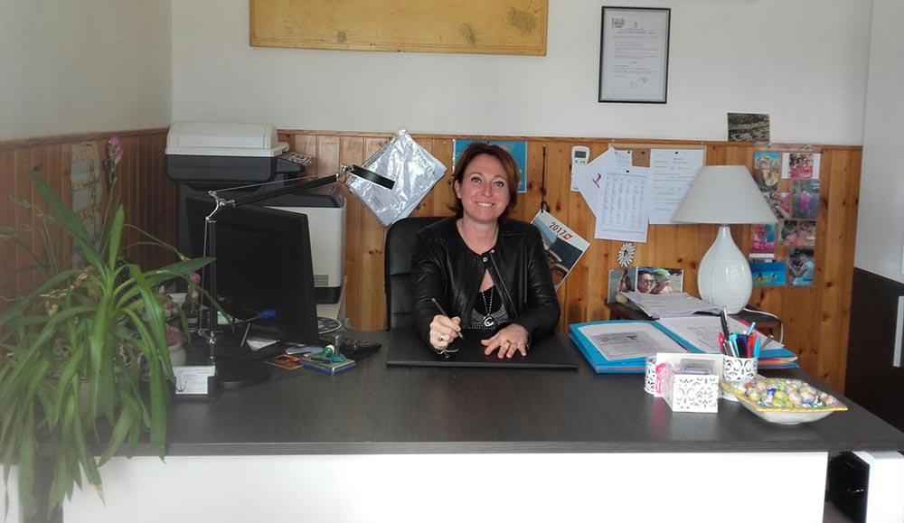 Barbara Sordi titolare Orsa Maggiore Agenzia pratiche nautiche