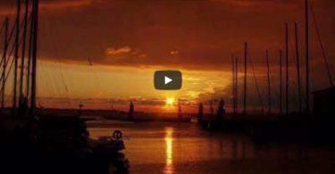 tramonto al posto di castiglione della pescaia